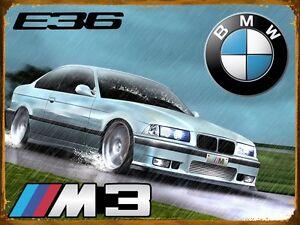 Plaque-vintage-BMW-M3-E36