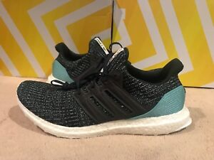 4a556738866b ADIDAS ULTRA BOOST 4.0 Mens 12 US Parley Ocean Carbon Blue Shoes New ...