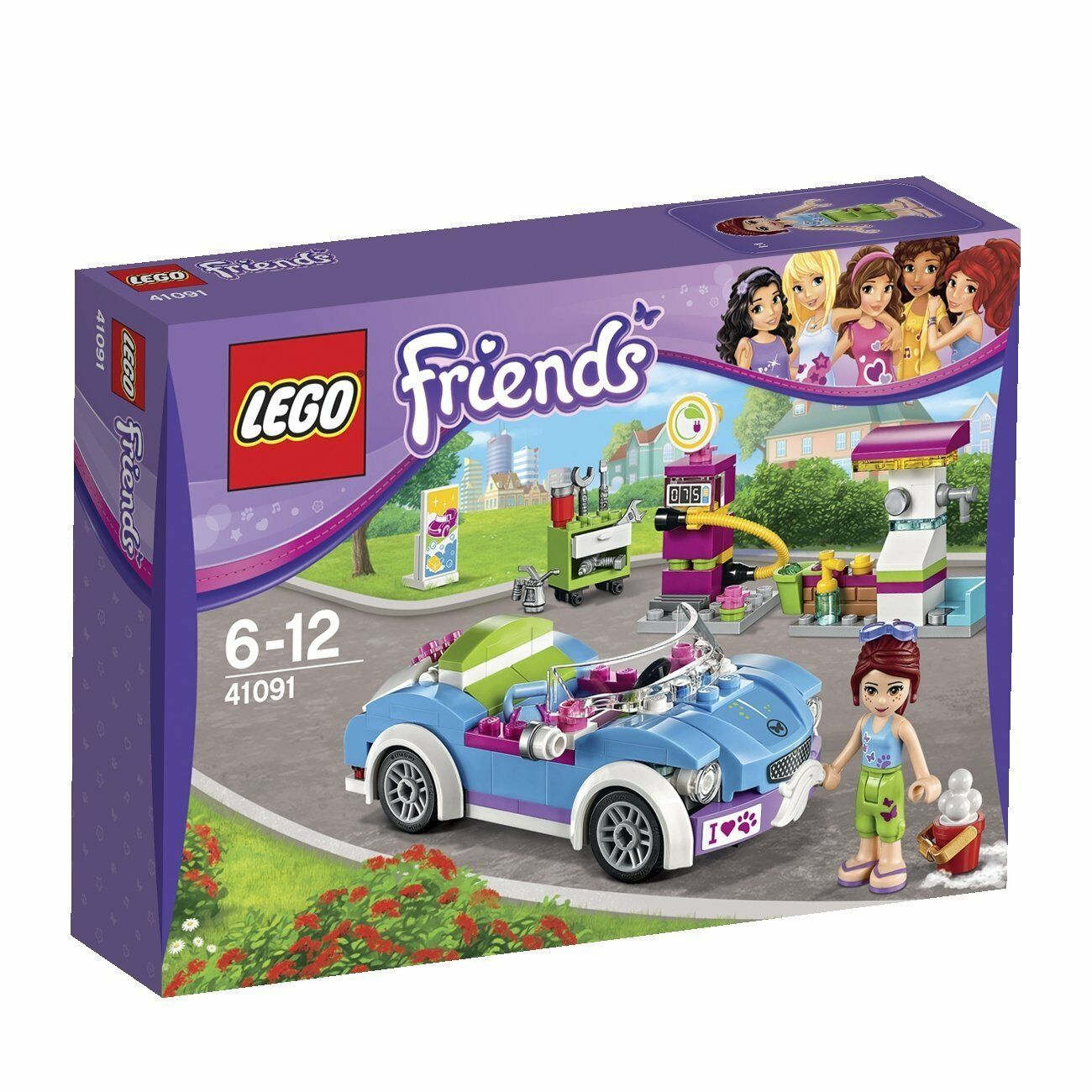 NEW Lego Friends Mia's Roadster Set 41091 Christmas gift SEALED BOX