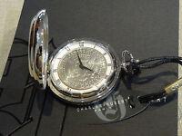 Charles Hubert Ss 1971 Eagle Fdr Half Dollar Pocket Watch Vest Roman