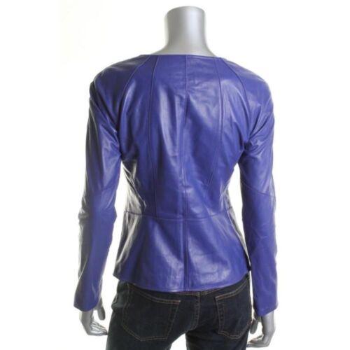 exclusive pour élégantes 47 véritable femmes en Veste Sexy Hot Offre cuir motard 100 TxqRgRF
