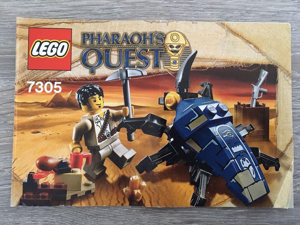 Lego Pharaohs Quest, 7305