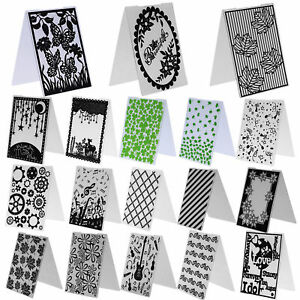 Plastic-Embossing-Folder-Template-DIY-Scrapbooking-Paper-Cards-Making-DIY-Craft