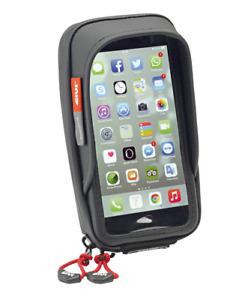 CUSTODIA PORTA CELLULARE SMARTPHONE GPS GIVI S957B NERO MOTO SCOOTER UNIVERSALE