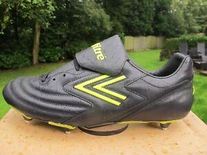 6f7fb9d11ff9 MITRE FUEGO SI Black Screw In Studs Mens Football Sport Boots Size ...