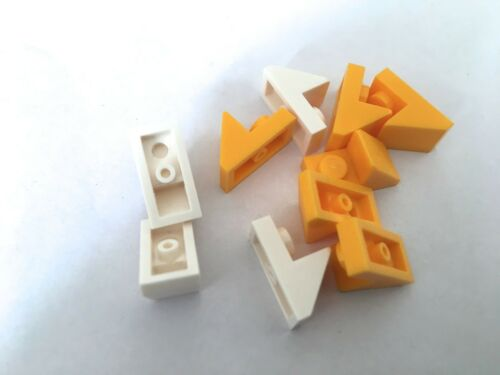 92946 LEGO 10 x 1x2 modified plate with slope Part Choose your colour!