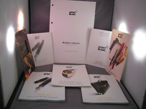 Mont-Blanc-1998-Catalogs-and-Color-Brochures