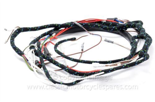 UK Made 1966 12 volt Wiring Harness Triumph T90 T100 TR6 T120