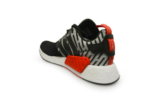 By2500 Mens Green Red r2 Trainers Nmd Adidas White twPqFf