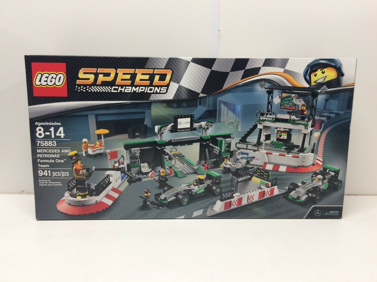 NEW NIB LEGO  Speed Champions 75883 MERCEDES AMG Petronas  Formula One Team