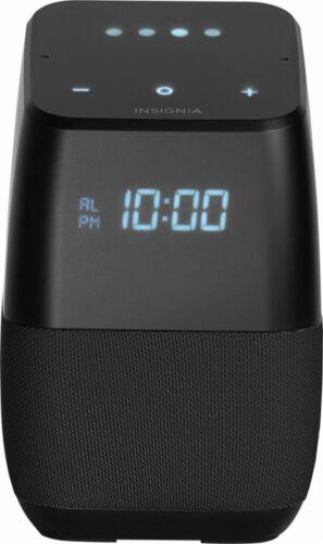 Insignia Voice Smart Portable Bluetooth Speaker Google NS-CSPGASP2 NS-CSPGASP-B