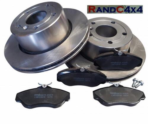 Land Rover Discovery 2 set disque de frein avant Mintex et Plaquettes de frein raffinée V8