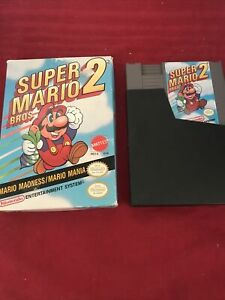 Super Mario Bros. 2 (1988) Nintendo Entertainment System NES Video Game