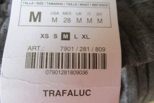 18186de972aeb4 Gris M Zara Femme Collection Taille Longue Jupe Trafaluc RCnHzwqxt