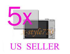 5x Sony CyberShot DSC-HX9V Clear LCD Screen Protector Guard Cover Film