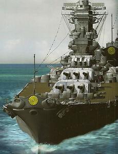 ijn yamato class battleship musashi shinano aircraft carrier 3d cg