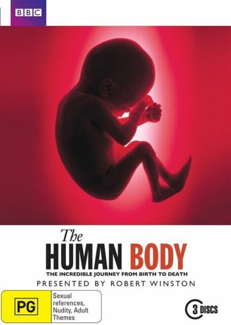 The Human Body (DVD, 2010, 3-Disc Set) R4 New, ExRetail Stock (D165)(D171)
