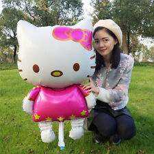 New! Hello Kitty Giant Cat Foil Balloon Birthday Wedding Party Decoration FS!