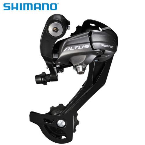 Shimano Altus RD-M370 9//27 Speed Rear Mech Derailleur long Black 03