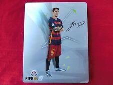 FIFA 16 (Messi) Steelbook Steel Box (leer, ohne Spiel) OVP