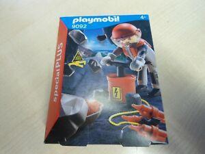 Playmobil-Special-Plus-9092-034-Sprengmeister-034-NEU