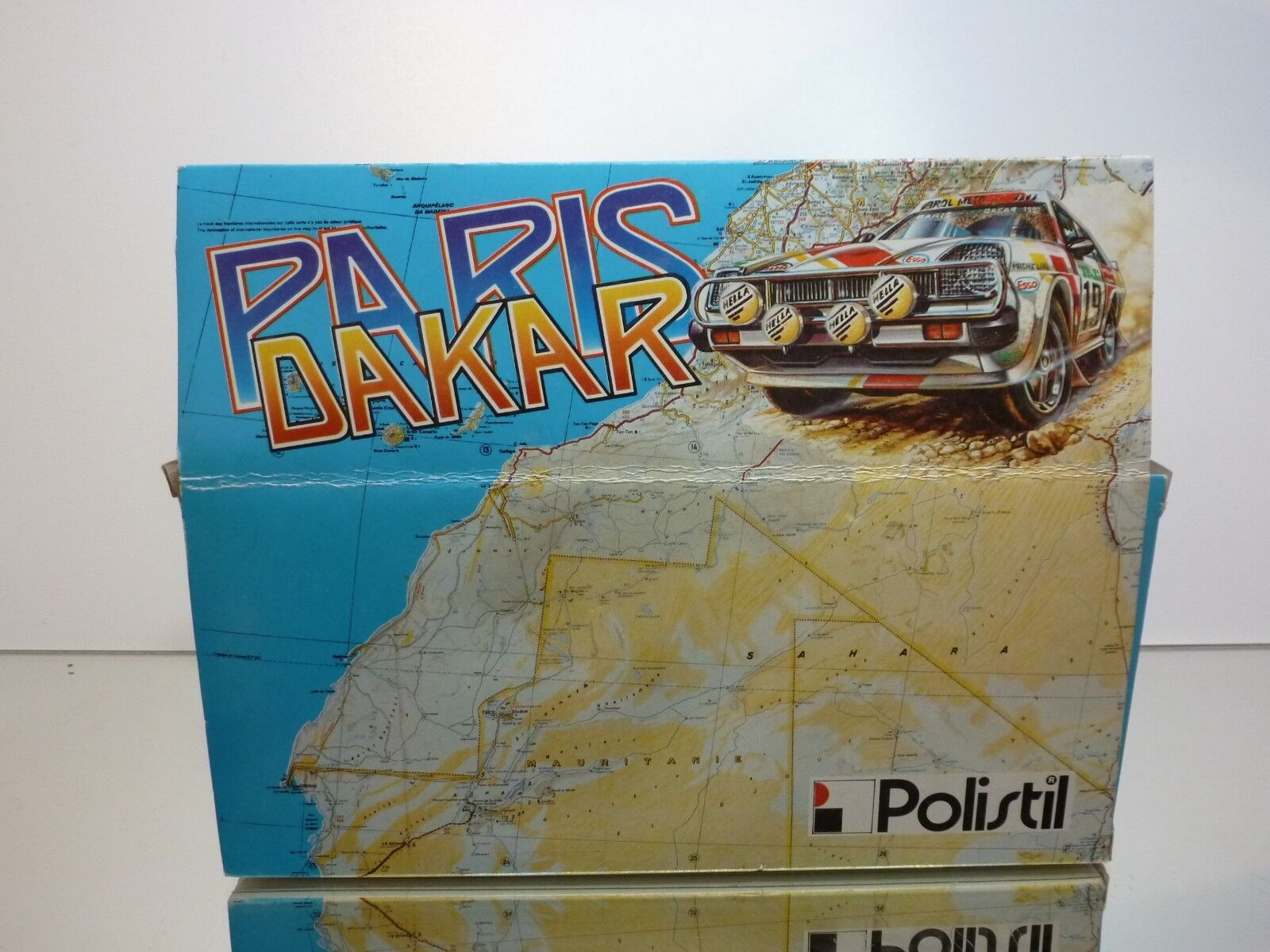 POLISTIL SN48 SN48 SN48 RENAULT  5 TURBO PARIS DAKAR - WHITE 1 22 - VERY GOOD IN BOX 6f0d20