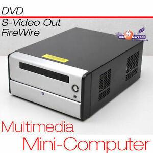 Joli Multimédia Compact 12v Ordinateur Cpu 1,6 Ghz S-video Tv Sortie 80gb 1gb Beau Lustre