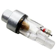 """AIRBRUSH MINI AIR FILTER Moisture Water Trap 1//8/"""" Fitting Hose Paint Spray Gun ♫"""