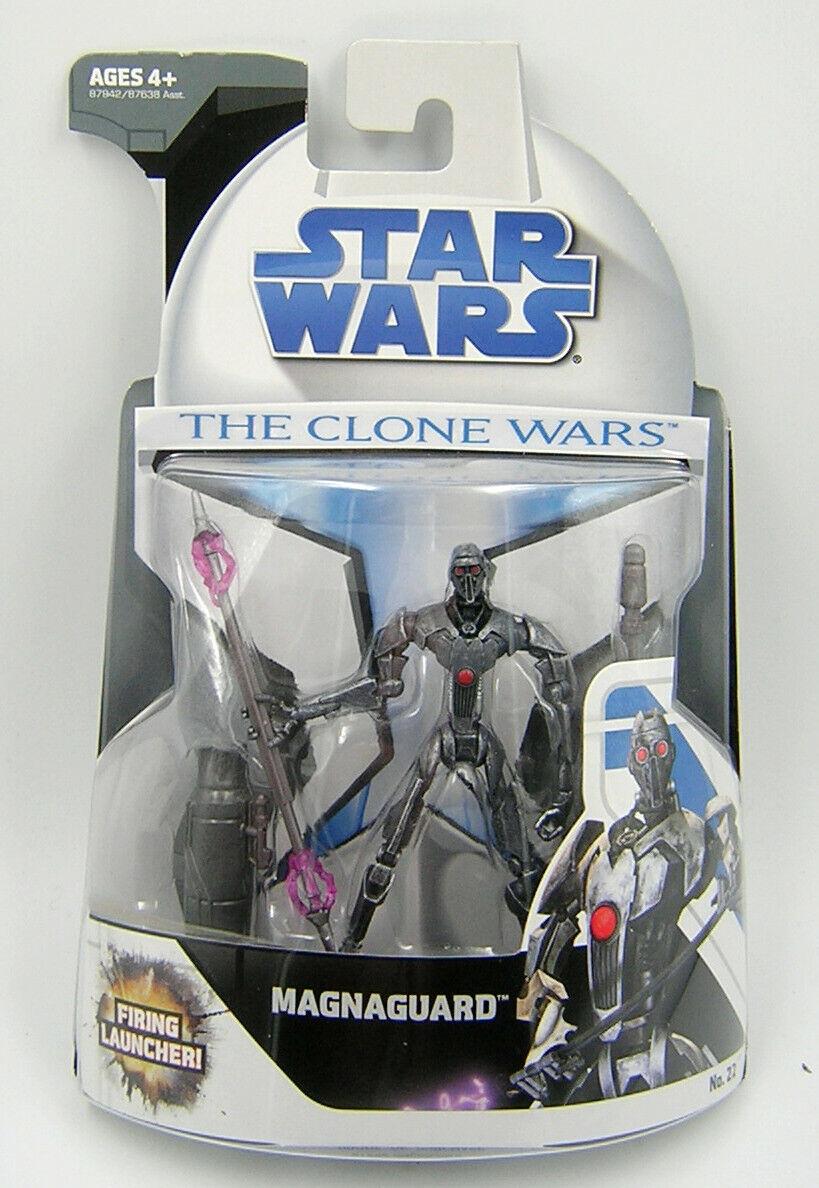 Star Wars Clone Wars CW22 Magnaguard 1st Release
