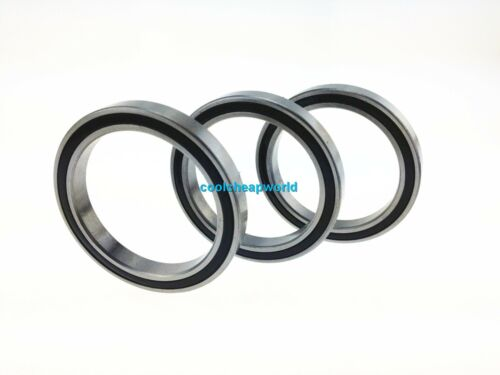 1pcs 6916-2RS 80x110x16mm Rubber Sealed Model Thin-Section Ball Radial Bearing