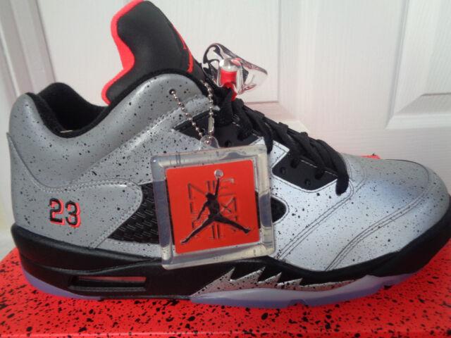 quality design 39e3a 26275 Nike Air Jordan 5 Retro Low Neymar V 3m Reflective Speckle Men Aj5  846315-025 UK 11