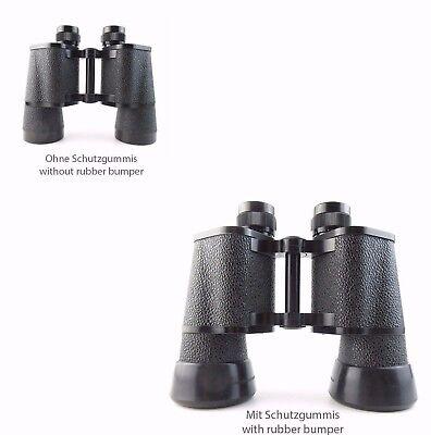 2x Protección De Goma Para Zeiss Jena Rubber Bumper Binoctem 7x50 (rub1#)