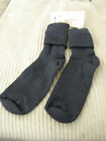 From Peru Alpaca Blend Dress Ankle Socks In Black Preteen Teen Size 7 - 8