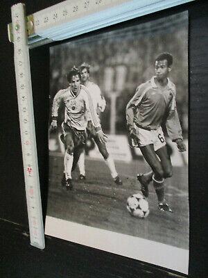 Griechenland 150720-36 Pressefoto DFV DDR Oberliga 1986 Länderspiel DDR