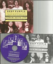 Ritchie Blackmore DEEP PURPLE Gemini Suite Live REMASTERD MINI LP SLEEVE MLPS