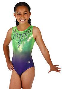 NEW Feathery Fun Gymnastics Leotard by Snowflake Designs
