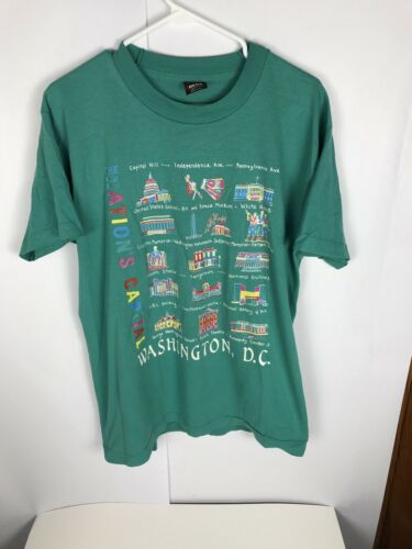 VTG 90s Mens Single Stitch T Shirt Washington DC T