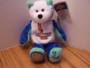 Delaware-Bear-Limited-Edition-State-Bear-With-Quarter-amp-With-Tags