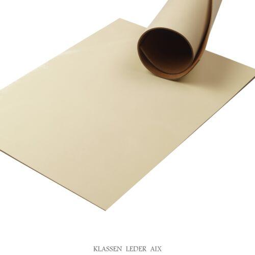 Peau de vache beige pull-up Design 2,5 mm épais a3 en cuir véritable leather 64
