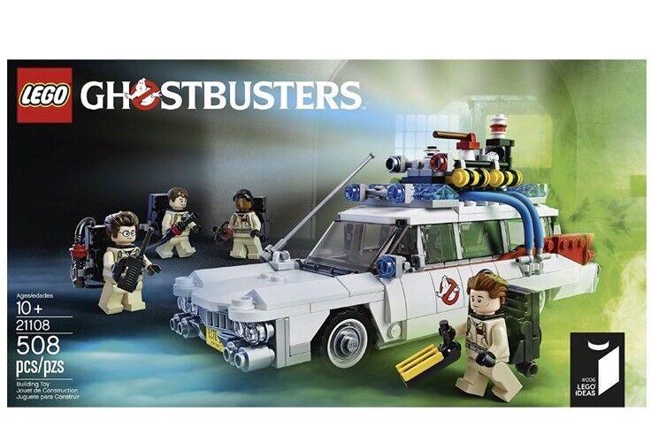 LEGO IDEAS GHOSTBUSTERS ECTO - 1 (21108) 30th Anniversario Edizione Limitata Nuovo