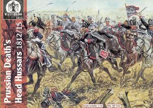Waterloo 1815 AP032 Prussian Death/'s head hussars 1812//15-1:72