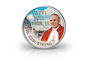 Farbmotiv-100-Anniversaire-Pape-Johannes-Paul-II