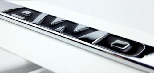 AWD Logo Trunk Rear Emblem Decal Badge for Jaguar XJ XK XF XJR F-Pace F-TYPE NEU