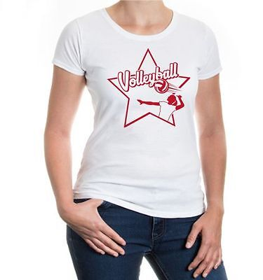Da Donna A Maniche Corte Malvagia T-shirt Pallavolo-signet Palla Sport Teamsport-net Ballsport Teamsport It-it Tieniti In Forma Per Tutto Il Tempo