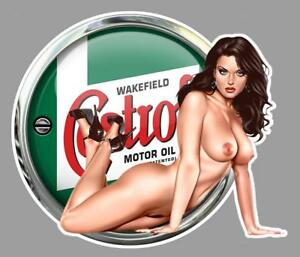 CASTROL-PIN-UP-right-Sticker-droite