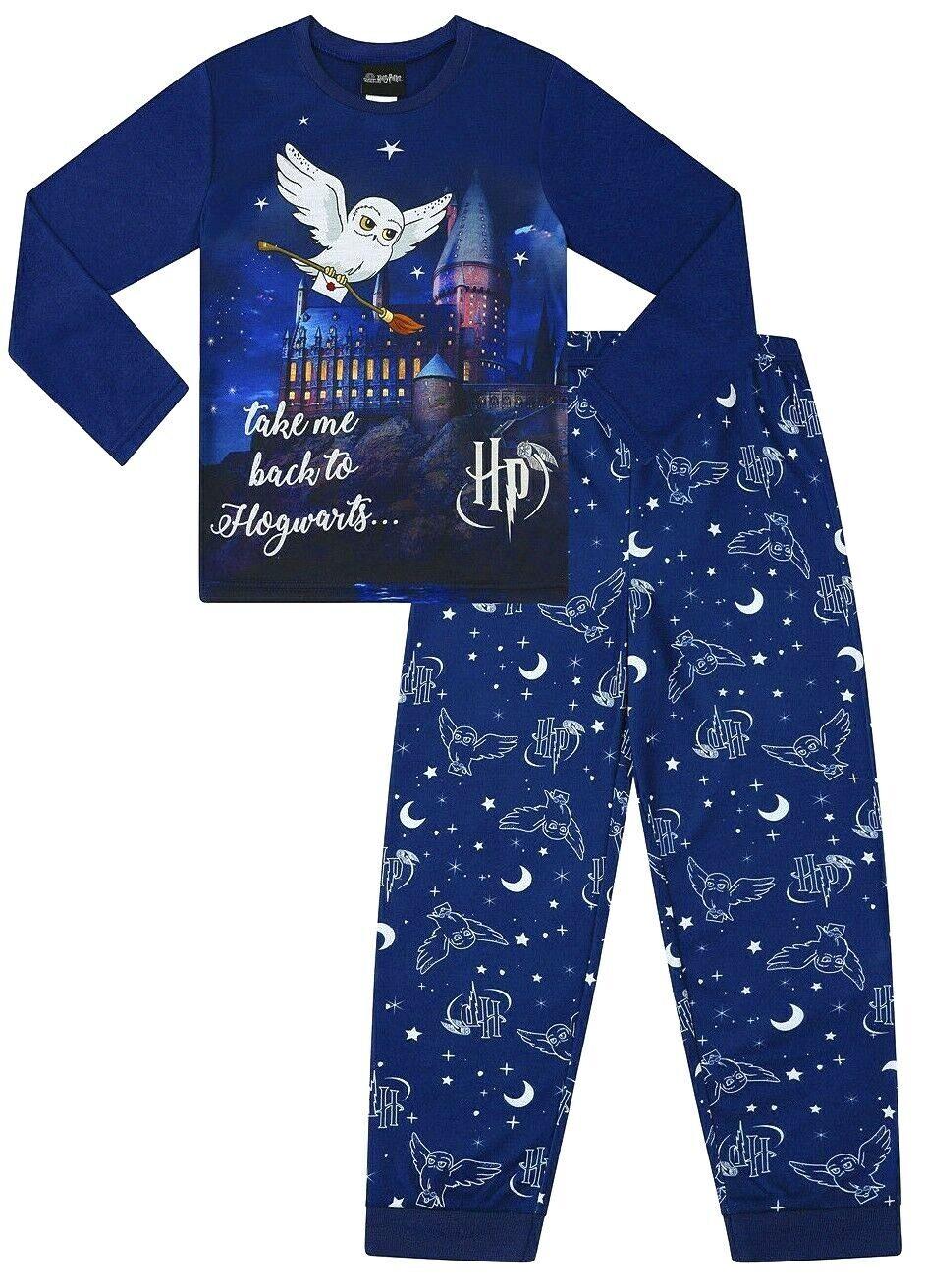 Boys Girls size 7 HARRY POTTER Flannel Burgundy flannelette pyjamas pjs NEW