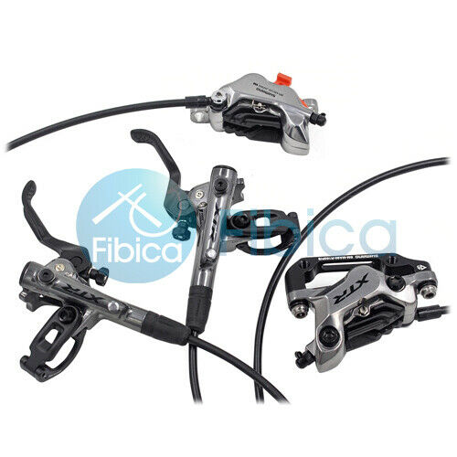 New 2019 Shimano XTR BR-M9120 4-Piston Hydraulic Disc Brake set Front+Rear