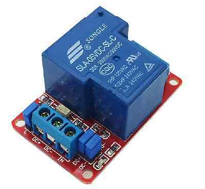 New 5V 30A 1-Channel Relay Module+Optocoupler H/L Level Triger for Arduino 5MA