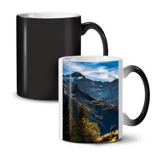 Adventure Mountain Nature NEW Colour Changing Tea Coffee Mug 11 oz | Wellcoda