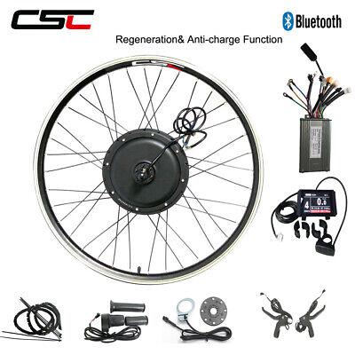 Electric Bike Wheel Conversion Kit 500W 1000W 1500W 48V Regeneration Bluetooth
